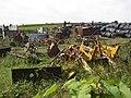 Agricultural scrapyard, Listing lane, Littletown, Liversedge - geograph.org.uk - 544331.jpg