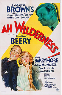 <i>Ah, Wilderness!</i> (film) 1935 film by Clarence Brown