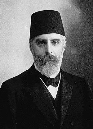 Ahmet Rıza - Ahmet Rıza in 1909 as an early opposition leader.