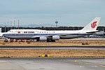 Air China, B-2487, Boeing 747-89L (43438558890).jpg