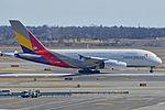 Airbus A380-841 'HL7626' Asiana (25656213471).jpg