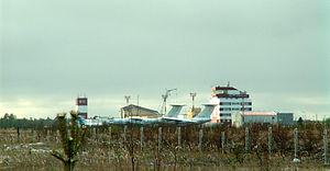 Kogalym International Airport - Image: Airport Kogalym