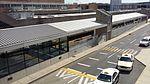 Airport Terminal B north platform from footbridge, PHL.jpg