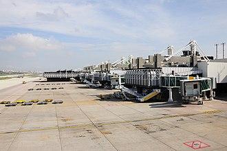 Lisbon Airport - Terminal 1 airside exterior