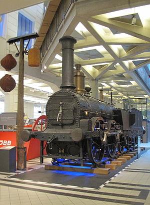 KFNB Minotaurus and Ajax - Ajax preserved at the Technisches Museum Wien (Vienna Technical Museum).