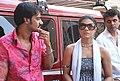Ajay Devgn and Kajol, special screening of U Me Aur Hum.jpg