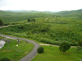 Mine, Yamaguchi - View of Karst landscape