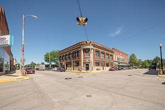 Akron, Indiana - Image: Akron, Indiana