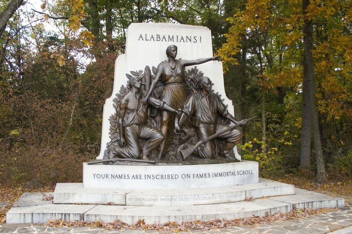 alabama state monument wikipedia