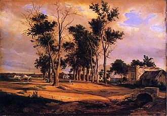 Hermann Lungkwitz - Alameda by Hermann Lungkwitz (14.03.1813 - 10.02.1891)