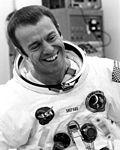 Alan Shepard during Apollo 14 suiting up.jpg
