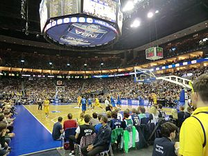 Alba Berlin - Alba Berlin vs the Dallas Mavericks in 2012