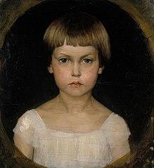 Portrait of the Artist´s Sister Berta Edelfelt