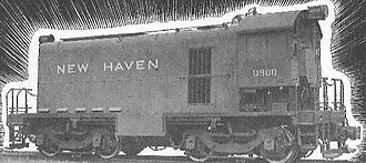 ALCO HH series - The New Haven's Alco 600 in 1933.