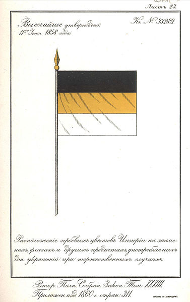 File:Alexander's II Order(Ukase) 11 june 1858 - flag.jpg