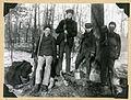 Alexander Wetmore and friends, Wisconsin, 1902 (8231821727).jpg
