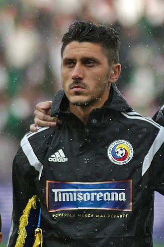 Ciprian Marica - Marica lining up for Romania in 2014