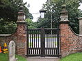 All Saints, Risley (gates, 02).JPG