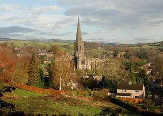 All Saints Church, Bakewell Church in Derbyshire, England