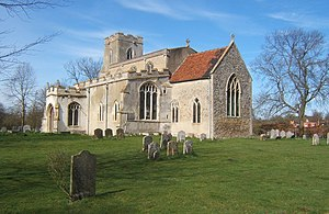 Chelsworth - Image: All Saints Church, Chelsworth geograph.org.uk 724591