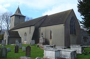 Grade II* listed buildings in Brighton and Hove - Image: All Saints Church, Patcham 03