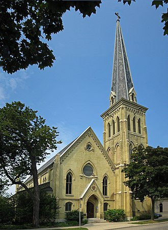 National Register of Historic Places listings in Milwaukee - Image: All Saints Episcopal Cathedral
