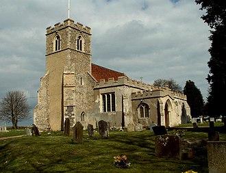 Acton, Suffolk - Image: All Saints church, Acton, Suffolk geograph.org.uk 151409