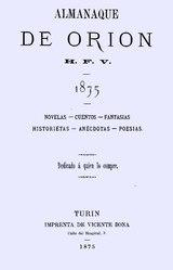 Almanaque de Orion 1875