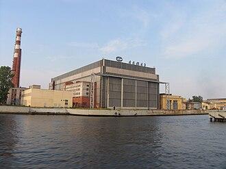 Shipbuilding in Russia - Almaz Shipbuilding Company plant in Saint Petersburg