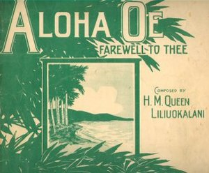 Music of Hawaii - 1913 sheet music cover