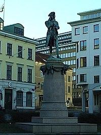 Alströmer på Lilla torget i Göteborg den 19 december 2004.JPG