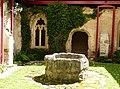 Altenburg Mittelalterliches Kloster - Kreuzgang Hof 2.jpg