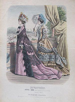 Alter és Kiss -  June 1875; Alter és Kiss Fashions