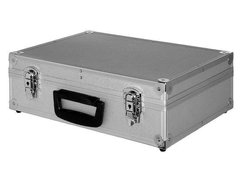 File:Aluminium Briefcase.jpg Description English: A briefcase made of aluminium. Español: Un maletín de aluminio. Date23 May 2008 SourceOwn work AuthorJorge Barrios