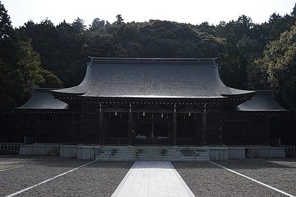 島根県隠岐郡海士町の隠岐神社。