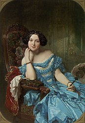 Federico de Madrazo y Kuntz: Amalia de Llano y Dotres, Countess of Vilches