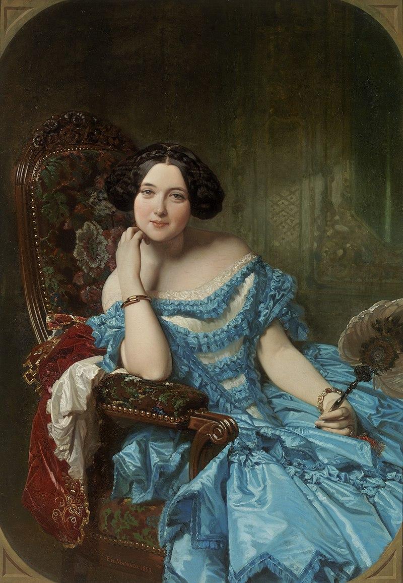 Федерико де Мадрасо и Кунц: Амалия де Льано и Дотрес, графиня Вильчес