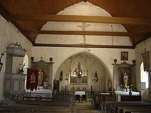 Amance, Aube - Image: Amance église 2