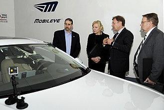 Mobileye - U.S. Ambassador visiting Mobileye in Har Hotzvim Technology park