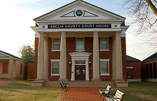Amelia County, Virginia County in the United States