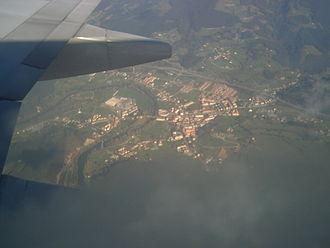 Asón-Agüera - Image: Ampuero desde el aire
