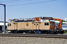 Amtrak Catenary Maintenance Vehicle (4982606318).jpg