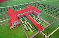 An artist's interpretation of the Gallo-Roman villa of Reinheim, European Archaeological Park of Bliesbruck-Reinheim, Germany France (34631926743).jpg