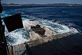 An assault amphibious vehicle departs from the well deck of USS Ashland (LSD 48) - 181021-N-XK398-1034.jpg