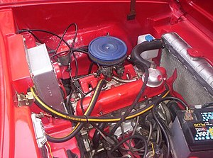 Ford Kent engine - 1297 cc Kent engine in an Anadol A1