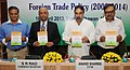 Anand Sharma releasing the Annual Supplement 2013-14 to the Foreign Trade Policy 2009-14, in New Delhi on April 18, 2013. The Commerce Secretary, Shri S.R. Rao is also seen.jpg