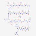 Anaritide Tertiary Structure, PubChem.png
