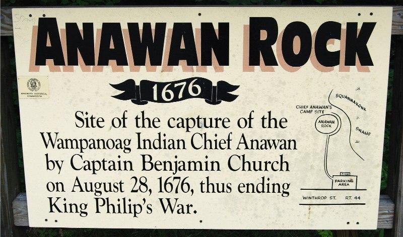Anawan Rock Sign