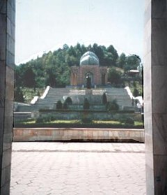 The Mausoleum of Babur in Andijan