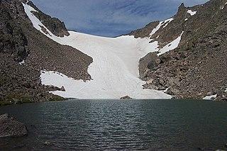 Andrews Glacier glacier in Colorado, United States